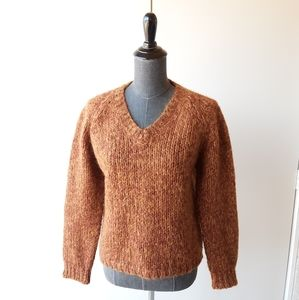 Anthropologie  loose fit wool sweater size Small